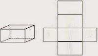 Gambar Jaring - Jaring Bangun Ruang Lengkap