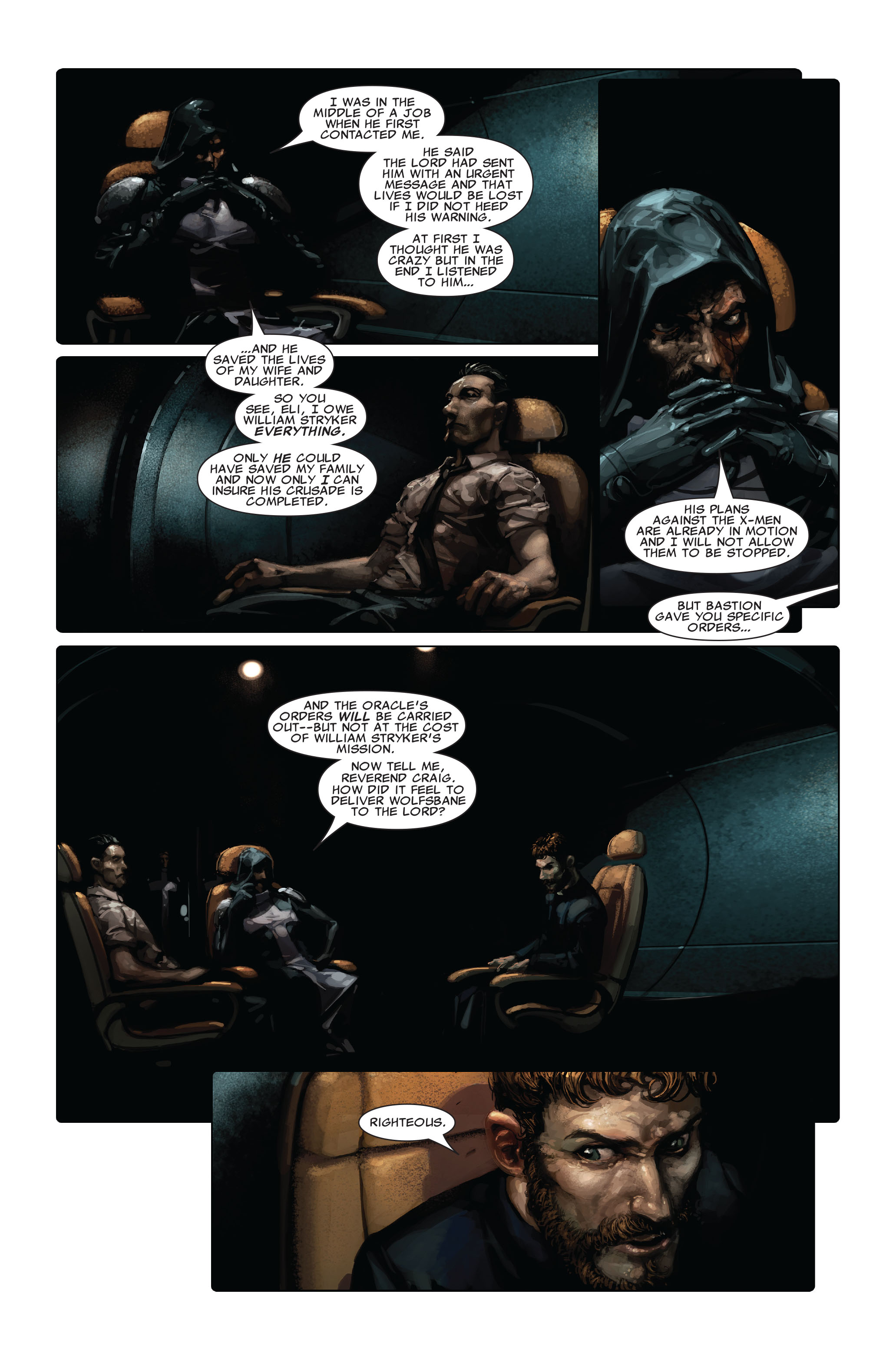 Read online X-Force (2008) comic -  Issue #3 - 7