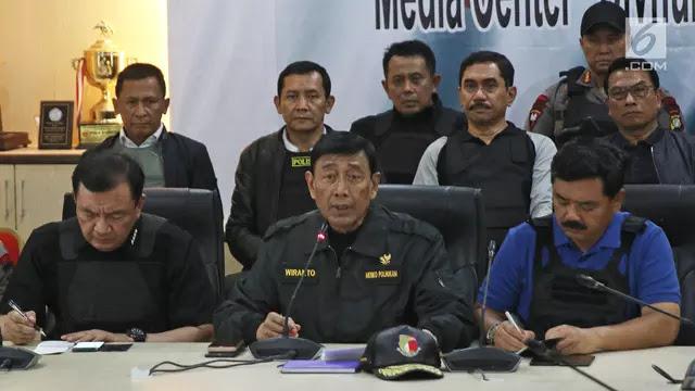 Pelibatan TNI di UU Terorisme, Wiranto: Jangan Khawatir Akan Superior