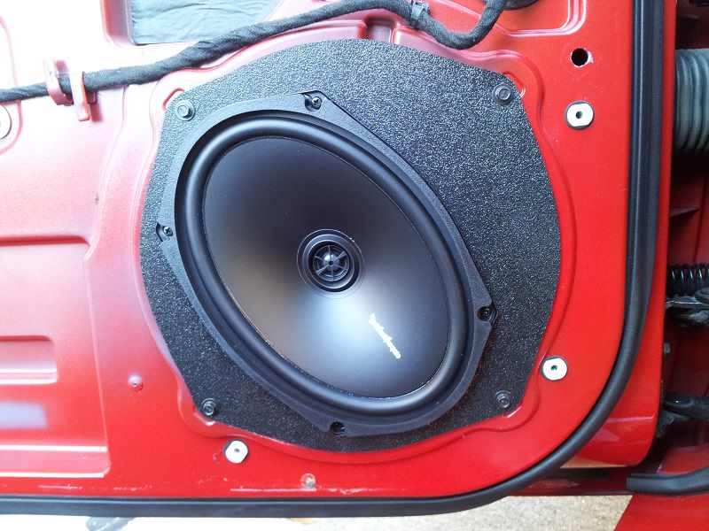 How To Make 9X9 Car Speakers Fit in 9X9 Holes? - How To Install