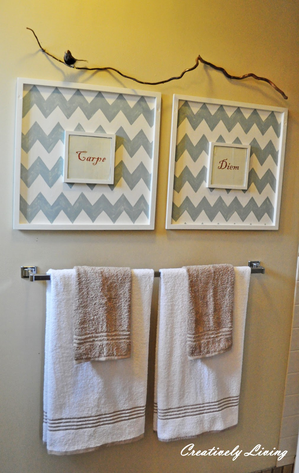 Bathroom Wall Art - Creatively Living Blog