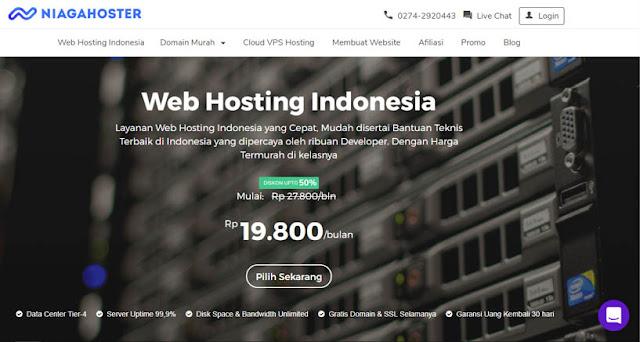 Niagahoster - Daftar Web Hosting Terbaik Di Indonesia 2018