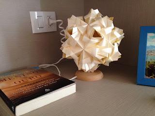 origami abajur