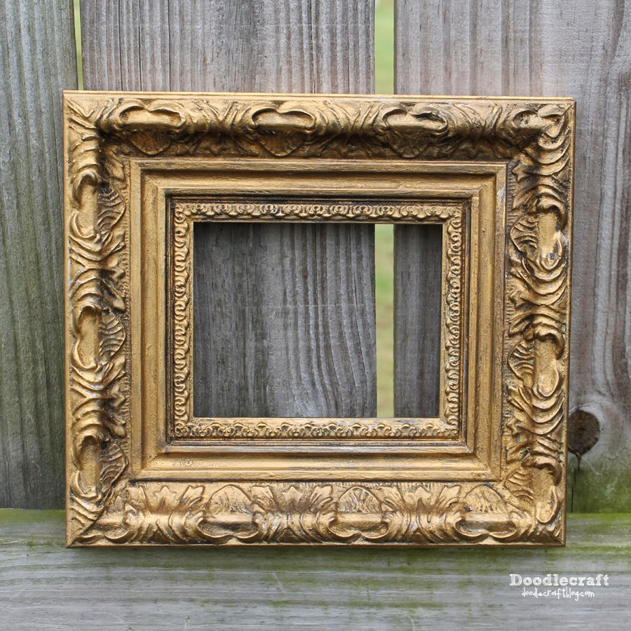doodlecraft gold or silver leaf ornate frames