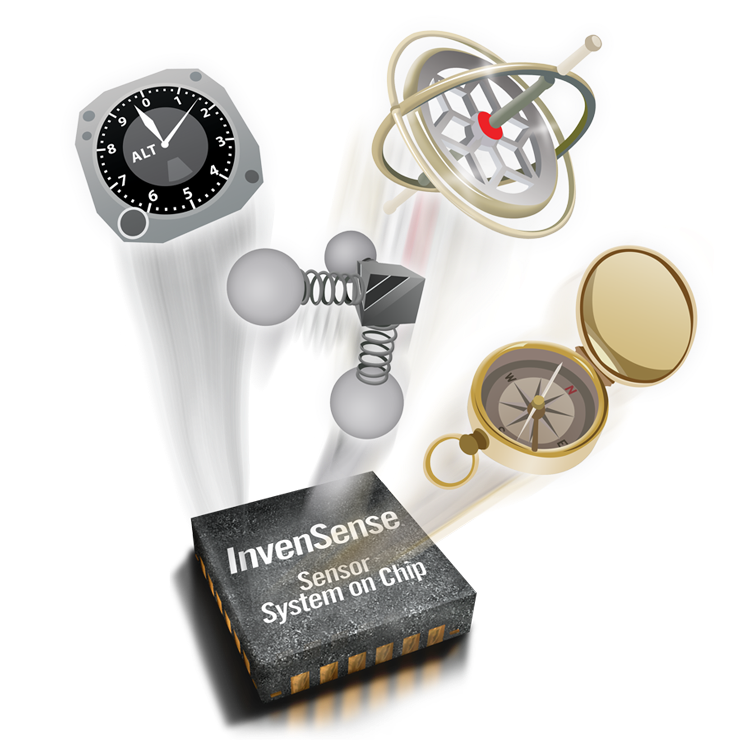 Датчики движения InvenSense