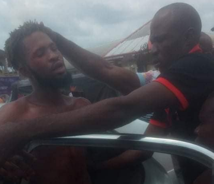 Disguised Yahoo Boy Nabbed In Delta Trying To Use 6-year-old Boy For Rituals