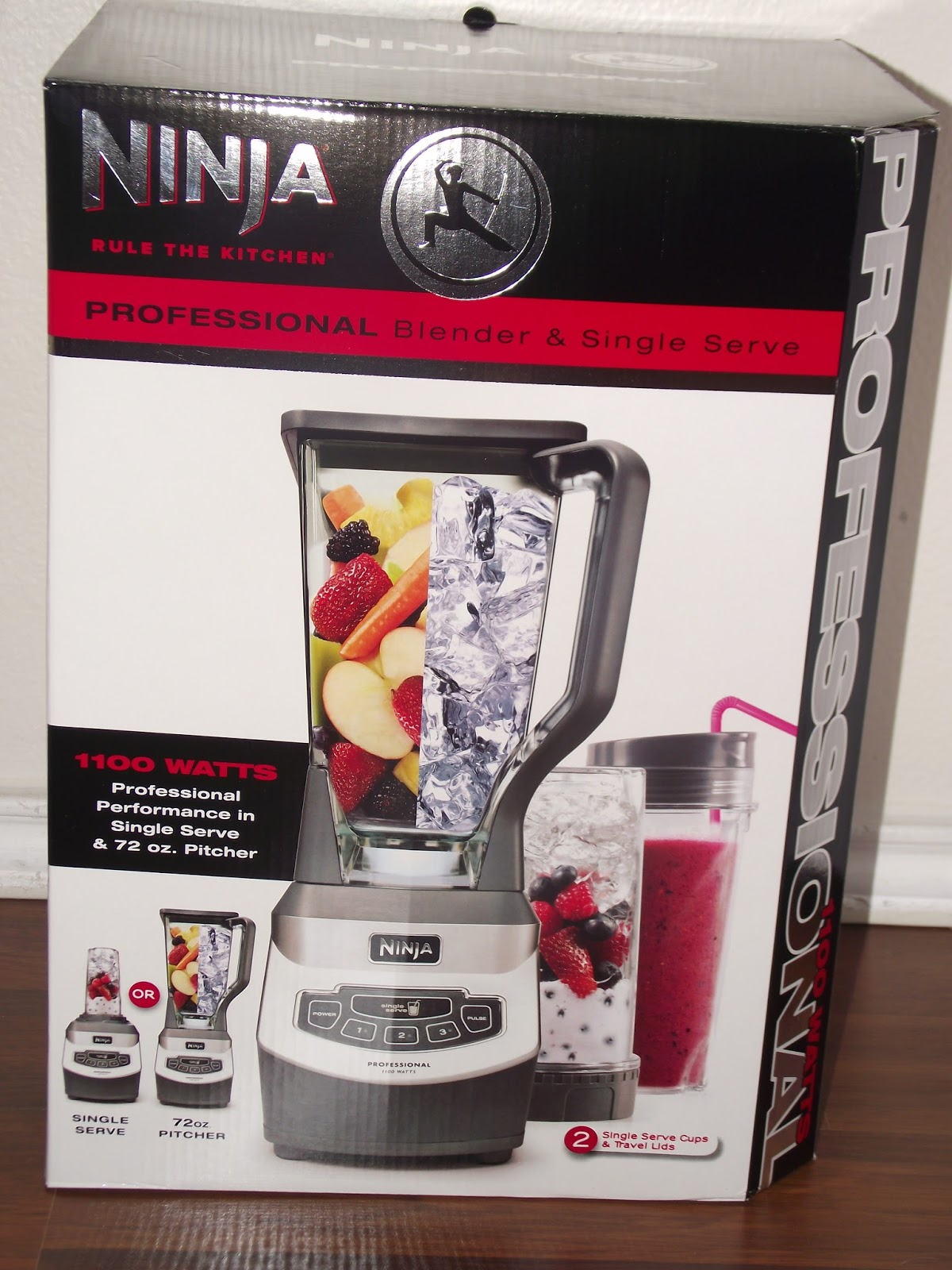 The Story Of Three: Ninja Professional Blender and Single ...