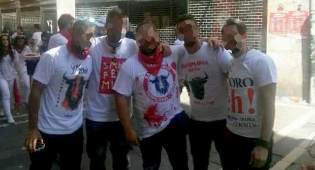 Los acusados de la violación múltiple en San Fermín grabaron otro abuso sexual en Cordoba