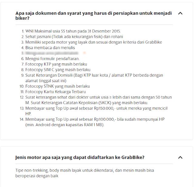 Cara daftar GrabBike dan GrabCar online Makkasar