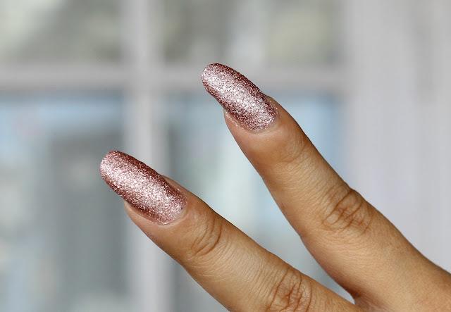 Sugar Cosmetics Tip Tac Toe Nail Lacquer Swatches- Rambling Rose