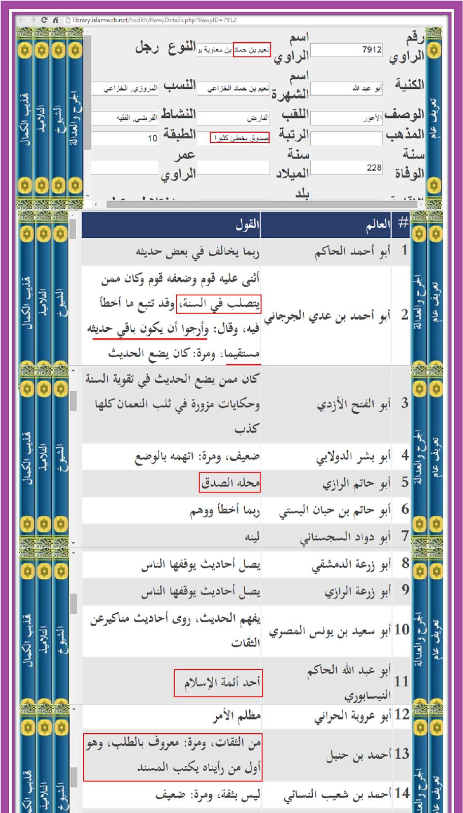 مدونة ابن النجف Ibenalnajaf رد رواية ابن ابي الحديد