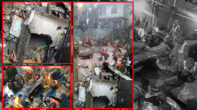 Building Collapse in Darjeeling, 3 Deaths, 7 Rescued, 7 Missing