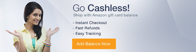 Amazon India 'Go Cashless!' offers after ₹500, ₹1000 notes ban upto 25% Off