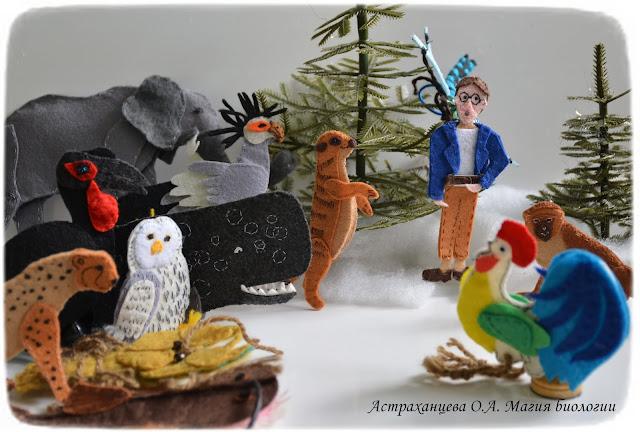 palchikovyj-teatr-KOAPP-kashalot-gepard-rak-slon-surikat-martyshka-kafrskij-voron-ptica-sekretar-sova-udilshhik-petuh