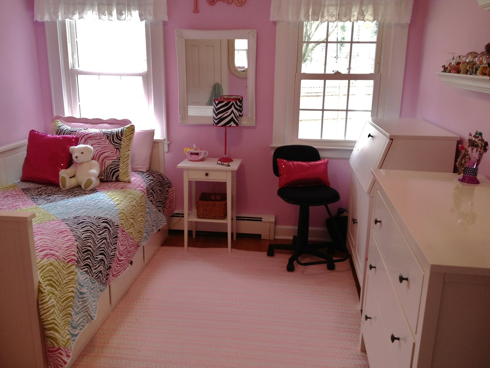 Tween Pink Bedroom Decor Ideas