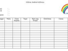 Geveducation:  Jurnal Kegiatan Harian Kepala PAUD