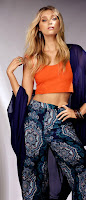 Gina Tricot Summer 2015 Campaign featuring Elsa Hosk