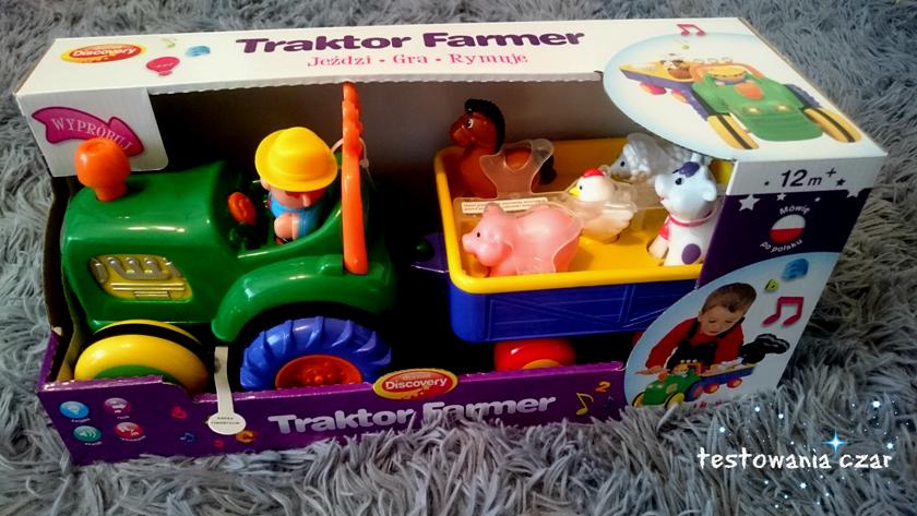 Dumel Discovery TRAKTOR FARMER - Pan Dumelek i zwierzątka zapraszają do zabawy