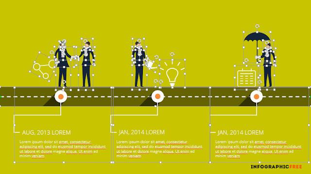 Editable Alliance-Timeline-infographic.