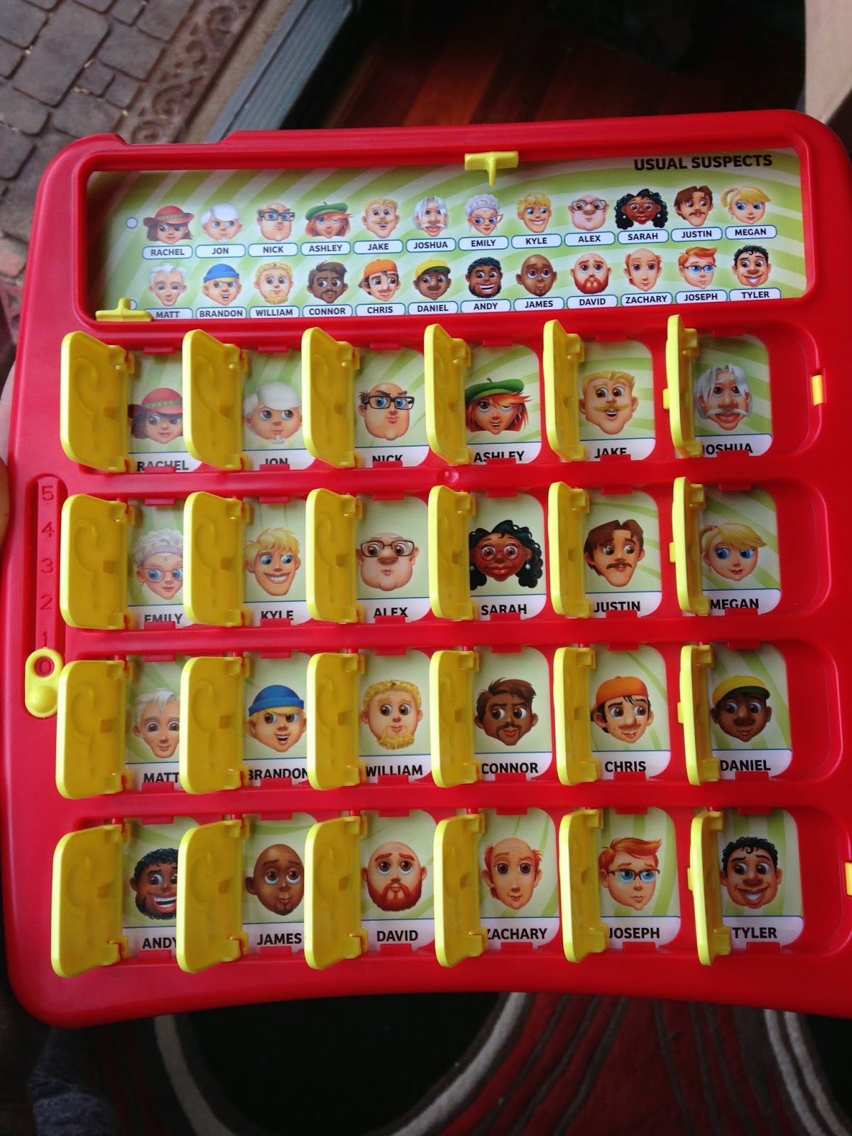 "Edenland: Just A Nice, Friendly Game Of ""Guess Who?"" Or As"