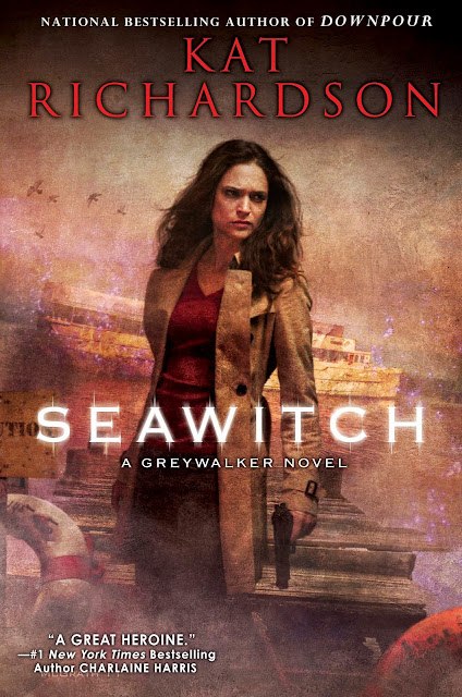Cover Revealed - Seawitch (Greywalker 7) by Kat Richardson