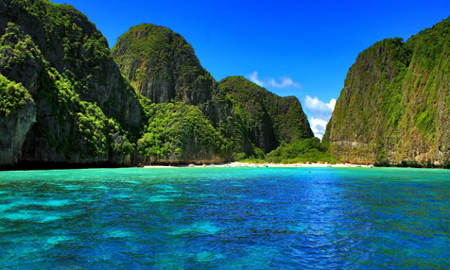 The Beach, Maya Bay, Koh Phi Phi Leh, Thailand