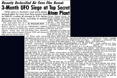 UFO Seige at Top Secret Atom Plant