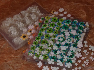 Pegatinas de flores