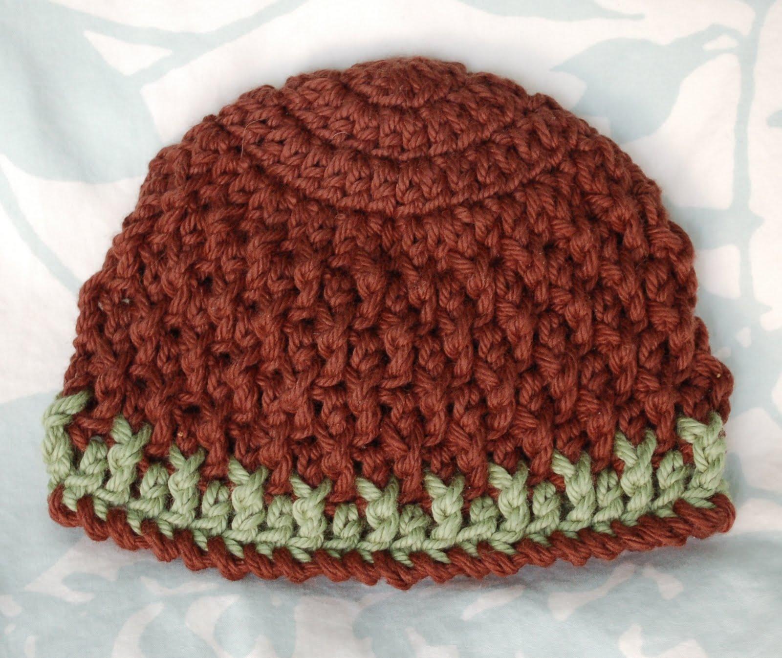 Alli Crafts  Free Pattern  Deeply Textured Hat - Newborn 8d000dd5790