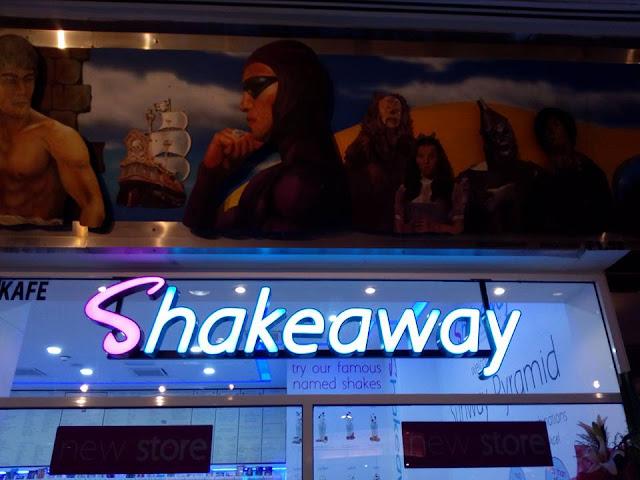 Shakeaway di Sunway Pyramid