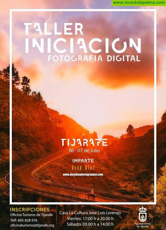 Taller de iniciación en la fotografía digital en Tijarafe