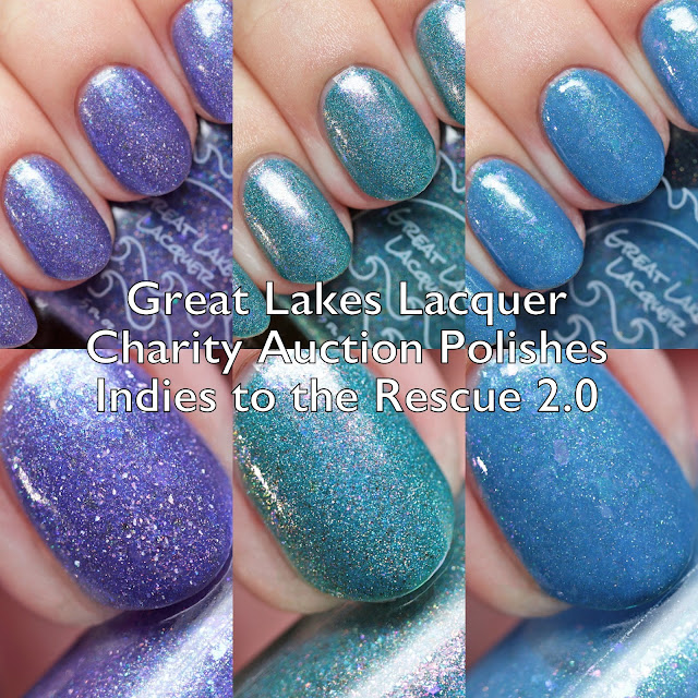 Great Lakes Lacquer Indies to the Rescue 2.0 Charity Auction for Moni's Mani