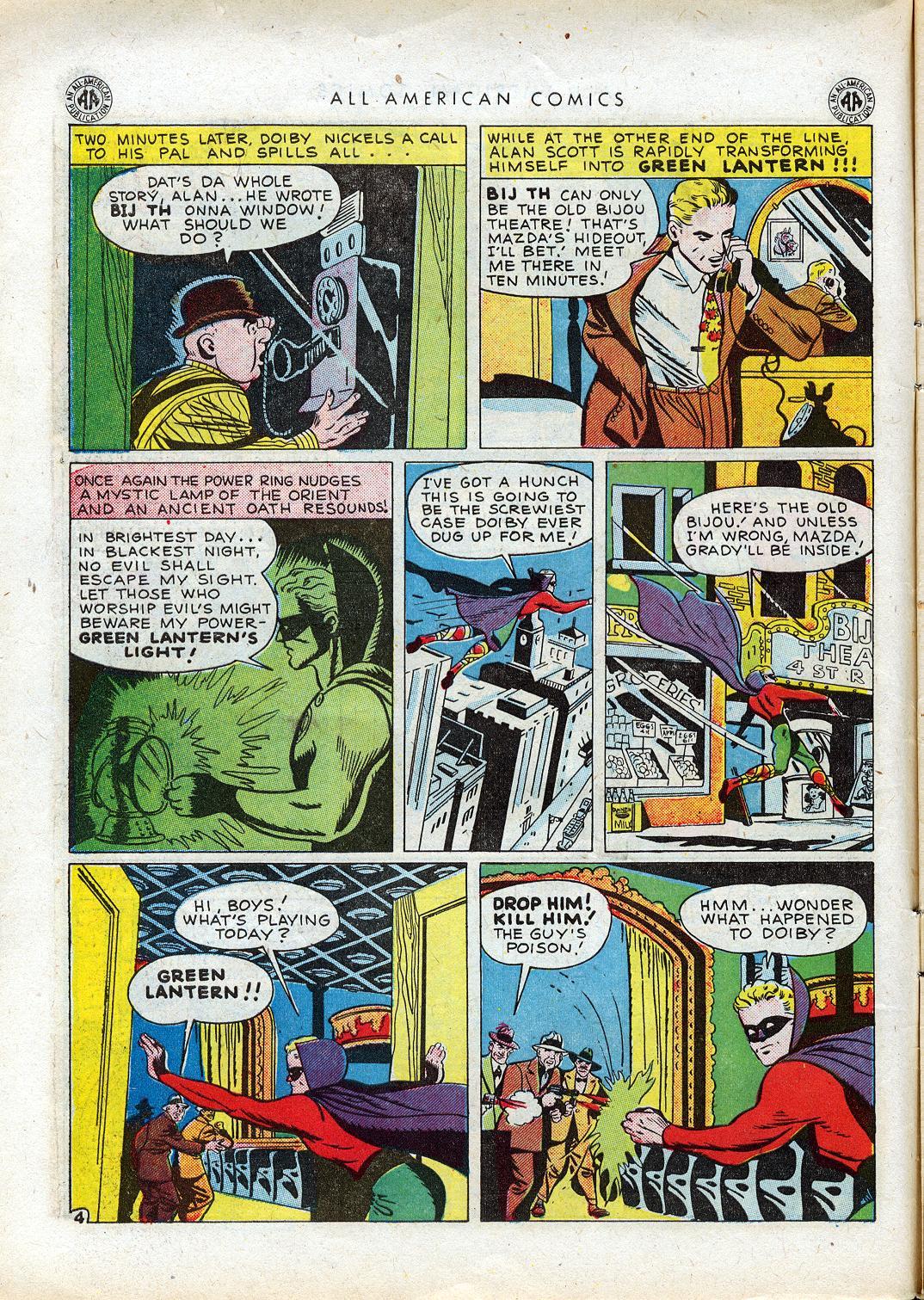 Read online All-American Comics (1939) comic -  Issue #64 - 7