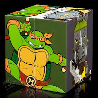 San Diego Comic-Con 2016 Mattel Exclusive KUBROS TEENAGE MUTANT NINJA TURTLES – MICHELANGELO VS. ROCKSTEADY SPECIAL EDITION SET