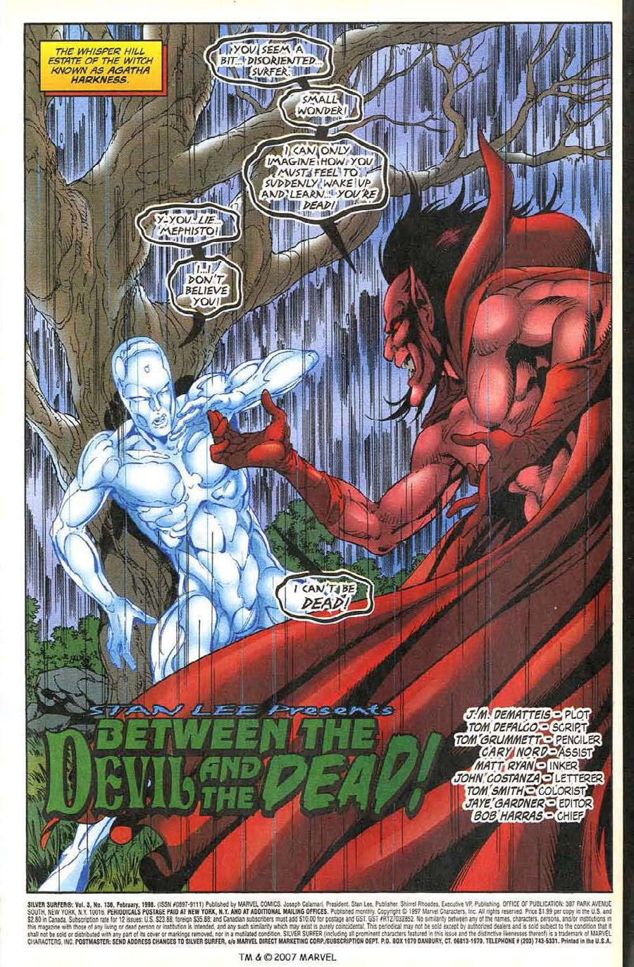 Read online Silver Surfer (1987) comic -  Issue #136 - 5