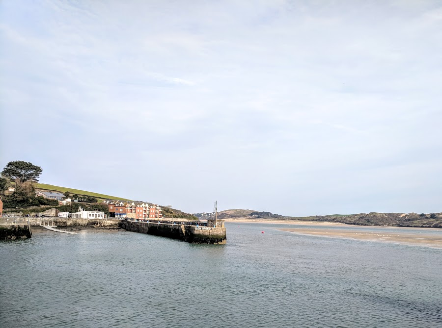 A Morning in Padstow : What to do with Kids  - harbour looking out to Rock