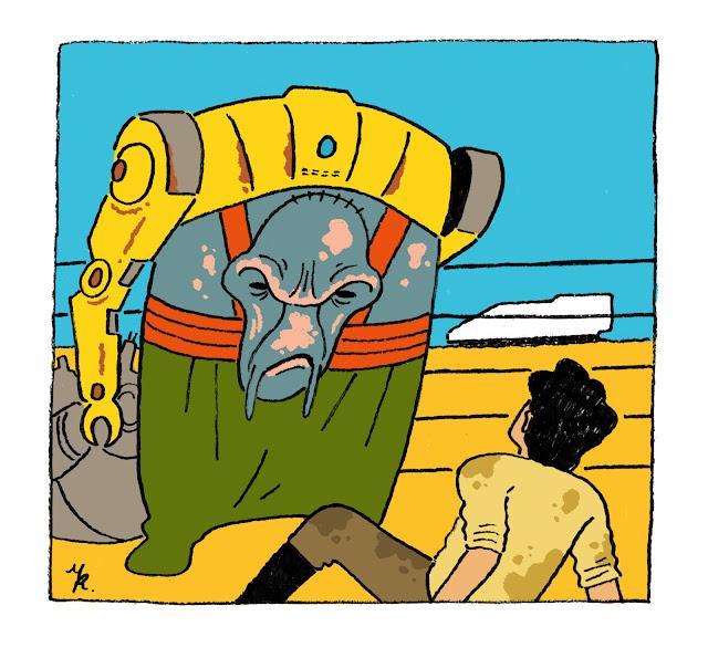 砂に墜ちた飛行士
