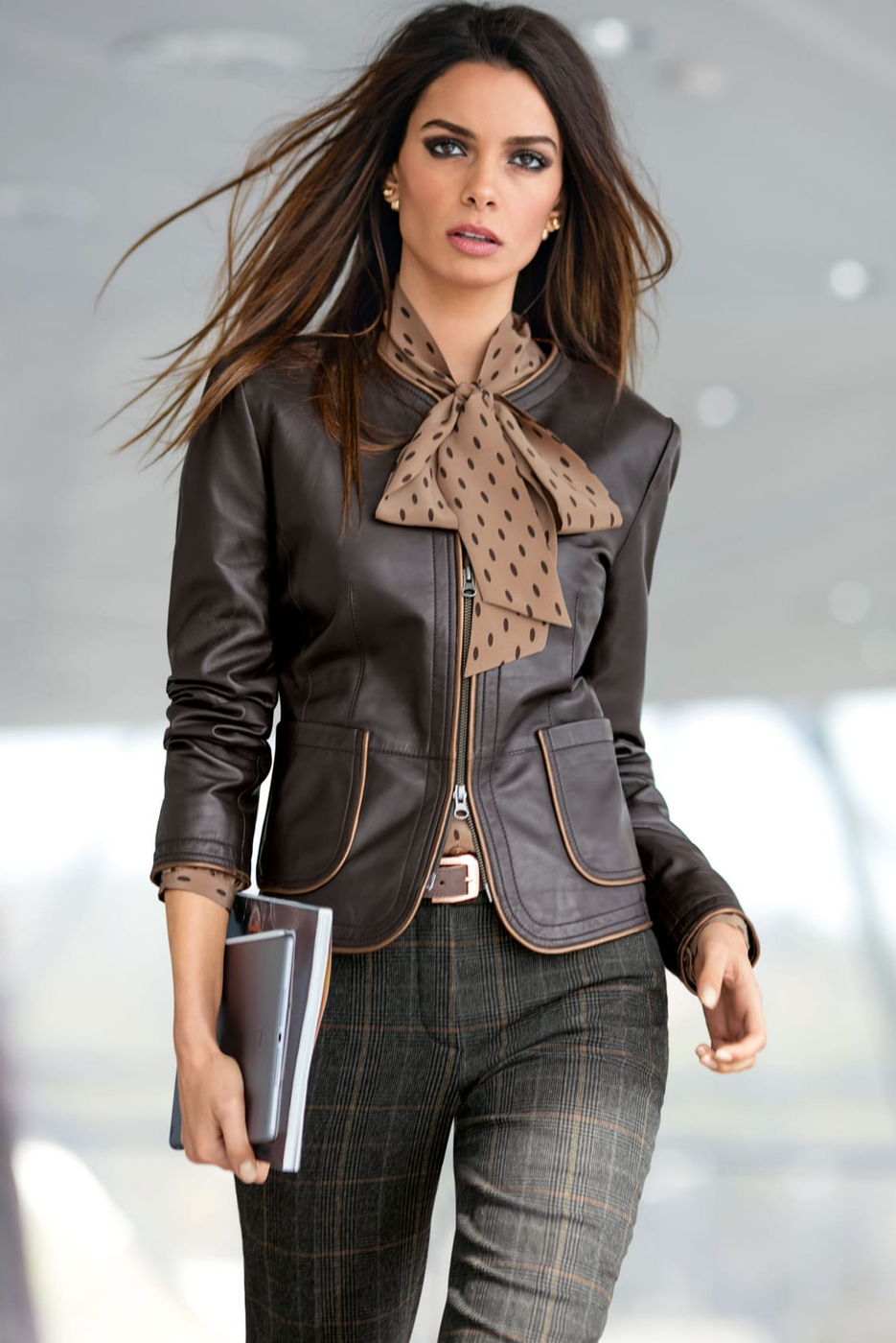 Madeleine LeatherJacket Brown