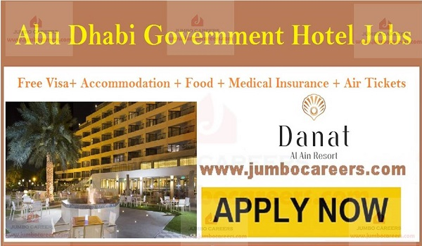 Current hotel jobs in Al Ain, UAE 5 star hotel job openings,