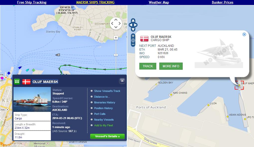 Marine Vessel Traffic