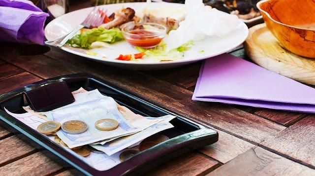 Gorjetas em restaurantes e bares de Córdoba