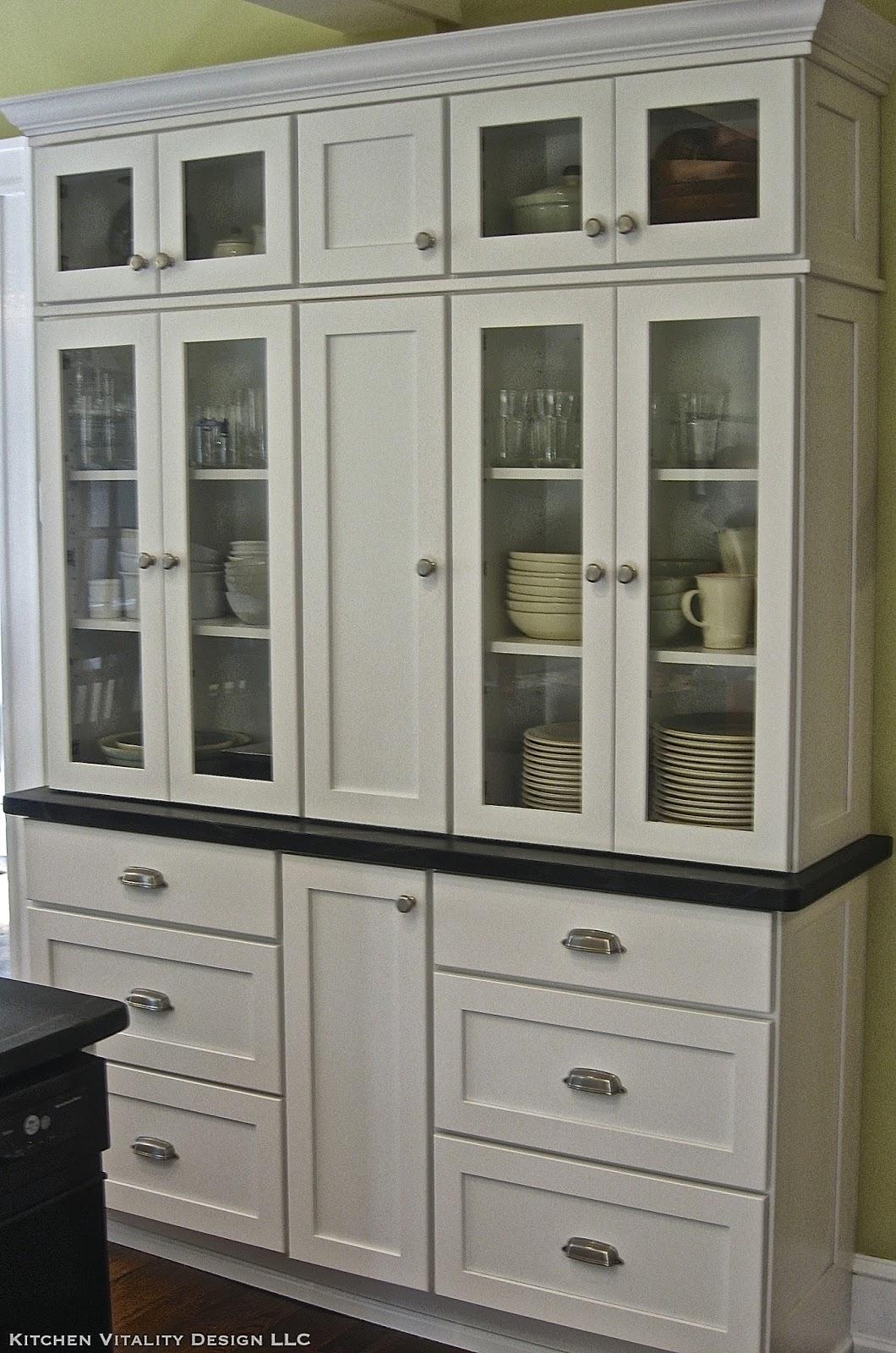 Ask A Kitchen Designer: A Built-in Kitchen Hutch
