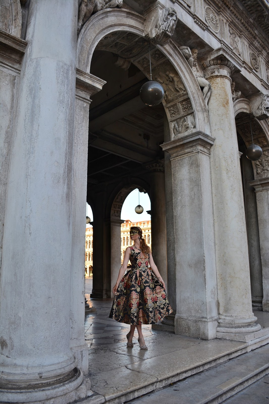 венецианский карнавал фотосессия Сан марко
