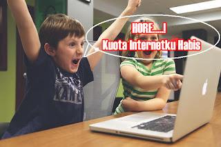 Mau Irit Kuota Internet Rezeki Melayang