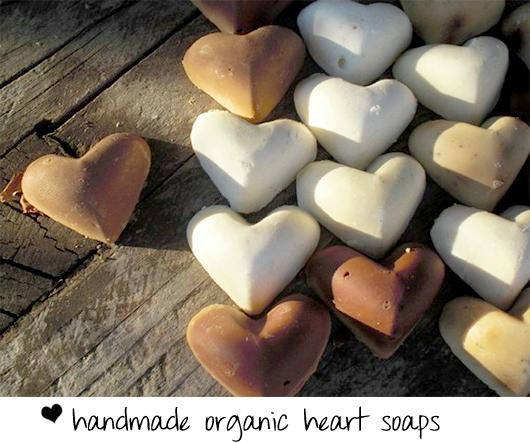 handmade organic soaps