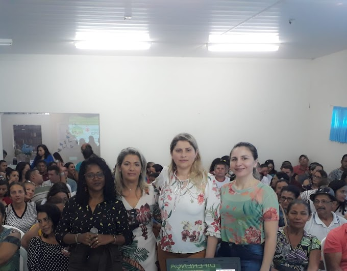 AGENTES DE SAÚDE RECEBEM CAPACITAÇÃO NA ÁREA DA ASSISTÊNCIA SOCIAL