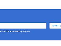 Cara Mudah Menggunakan Google URL Shortener - Pemendek URL Sendiri