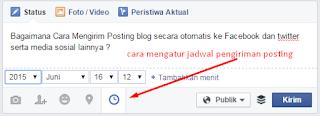 Cara Mengirim Posting blog secara otomatis ke Facebook dan twitter