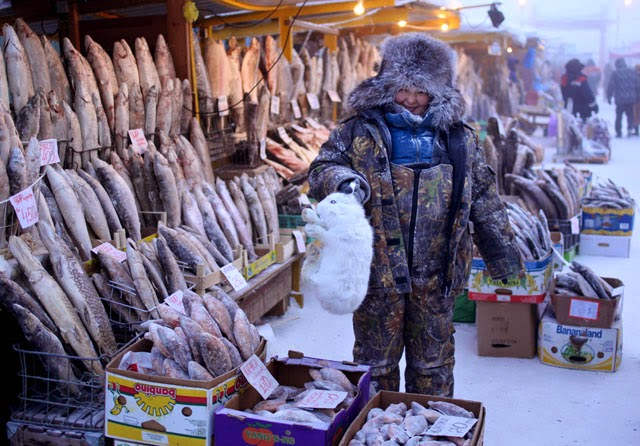 Ojmjakon, in Siberia