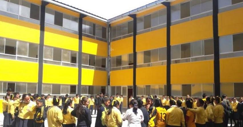 22 de noviembre V y último Simulacro Nacional Escolar en Santiago de Chuco 2019